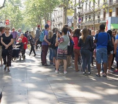 Foto: Catalunya lidera la llegada de turistas internacionales hasta julio (EUROPA PRESS)
