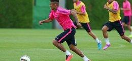 Foto: Neymar sufre un esguince y es duda para el debut liguero (MIGUEL RUIZ - FCB)
