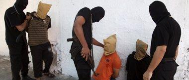 Foto: Hamás ejecuta a 18 presuntos colaboracionistas con Israel en Gaza (STRINGER . / REUTERS)