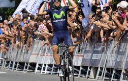 """Foto: Valverde: """"Solo pienso en intentar ganar La Vuelta"""" (MOVISTAR TEAM)"""