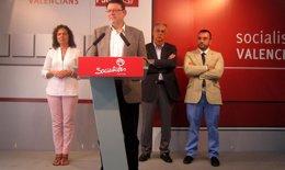 """Foto: El PSPV plantea una """"línea de colaboración democrática"""" entre todos los partidos contra la reforma electoral del PP (EUROPA PRESS)"""