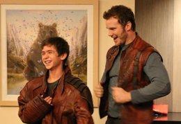 Foto: Guardianes de la galaxia: Chris Pratt visita un hospital infantil (LA CHILDREN´S HOSPITAL / TWITTER)