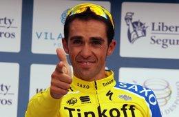 """Foto: Contador: """"Creo que no estoy preparado para luchar por La Vuelta"""" (PRENSA AC)"""