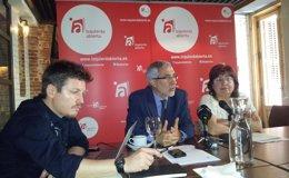 Foto: El partido de Llamazares reúne a IU, Podemos, Equo y Compromís para debatir la convergencia de la izquierda (EUROPA PRESS)