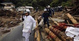 Foto: Ascienden a 40 los muertos por los deslizamientos de tierra en Hiroshima (REUTERS)