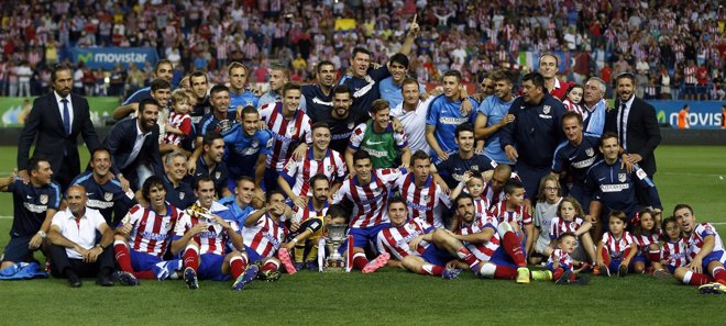 Foto: El Atleti sigue en el cielo (REUTERS)