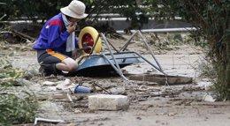 Foto: Aumentan a 42 los muertos por los deslizamientos de tierra mientras continúa la búsqueda de supervivientes (TORU HANAI / REUTERS)