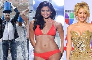 """Foto: El triunfo del """"Ice Bucket Challenge"""", la Miss España enamorada de Vanesa Klein y el plagio de Shakira (GETTY)"""