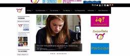 Foto: La Diputación de Valencia patrocina una web para erradicar la violencia de género entre adolescentes (DIPUTACIÓN DE VALENCIA)