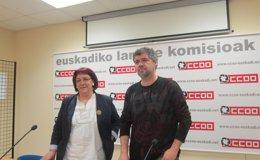 """Foto: CC.OO Euskadi defiende un modelo federal """"ambicioso"""" en el que """"los hechos nacionales puedan acomodarse"""" (EUROPA PRESS)"""