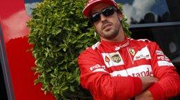 """Foto: Alonso: """"En seco no hubiéramos sido cuartos"""" (REUTERS)"""