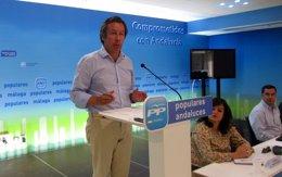 """Foto: Floriano (PP) destaca que, """"a pesar del PSOE"""", España """"ha salido de la crisis y está en pleno proceso de recuperación"""" (EUROPA PRESS)"""