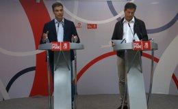 """Foto: Sánchez responde a las acusaciones de Caamaño con su """"respaldo absoluto"""" a la ejecutiva del PSdeG (EUROPA PRESS)"""