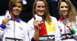 Foto: Belmonte suma su primer oro en Berlín (MICHAEL DALDER / REUTERS)