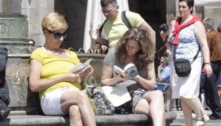 La despesa dels turistes estrangera augmenta un 7% fins al juliol, fins a 34.497 milions