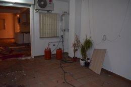 Foto: Un hombre intenta explosionar un edificio en Alcalá (Sevilla) (EUROPA PRESS/POLICÍANACIONAL)