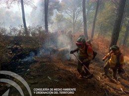 Foto: Siete imputados por el incendio de los Montes de Málaga (EUROPA PRESS/JUNTA)
