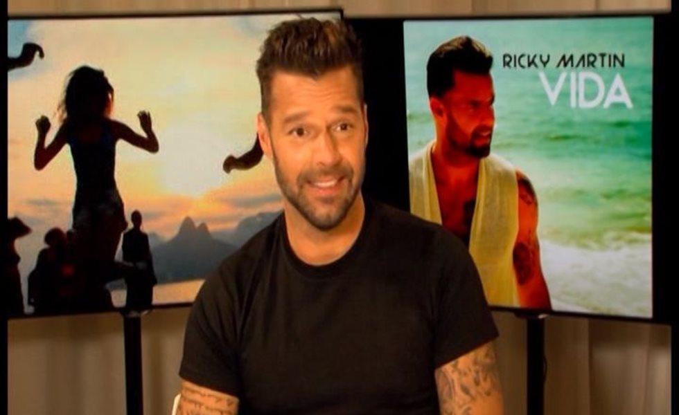 Ricky Martin quiere adoptar una niña en 2015