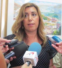 """Foto: Susana Díaz proclama su derecho de defender Andalucía ante Rajoy ante el PSOE: """"No esperen que me quede callada"""" (EUROPA PRESS)"""
