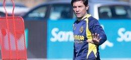 """Foto: Marcelino no se confía ante el Astana y advierte de que """"aún quedan 90 minutos"""" (VILLARREAL FC)"""