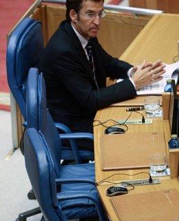 Foto: El PP impide que Feijóo comparezca en el Parlamento gallego por la negativa a construir el dique flotante de Ferrol (ANA VARELA)