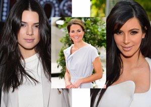 Foto: Kendall Jenner copia a Kim Kardashian... y Kim a Kate Middleton (EUROPA PRESS)