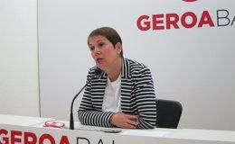 """Foto: Geroa Bai aboga por hablar con PSN para """"acabar"""" con el Gobierno de UPN en Navarra (EUROPA PRESS)"""