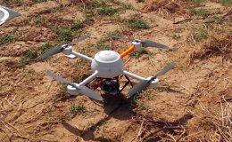 Foto: La bodega Viñas del Vero, de la D.O. Somontano, innova y emplea drones en la vendimia de este año (VEÑAS DEL VERO)