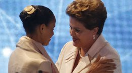 Foto: Silva se impondría a Rousseff en segunda vuelta con seis puntos de ventaja (PAULO WHITAKER / REUTERS)