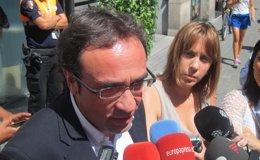 """Foto: Pujol revela que el Parlamento catalán aún no le ha llamado a comparecer: """"Primero me lo han de comunicar"""" (EUROPA PRESS)"""