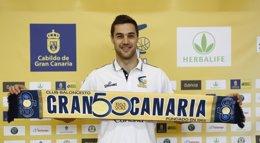 """Foto: Levon Kendall: """"Gran Canaria es un equipo muy importante y por eso quería venir aquí"""" (HERBALIFE GRAN CANARIA)"""