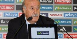 """Foto: Del Bosque: """"Lo que ha hecho Xabi es difícil de mejorar"""" (EUROPA PRESS)"""