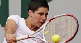 Foto: (Orden de juego) Carla Suárez, a mantener al tenis femenino español en Nueva York (REUTERS)