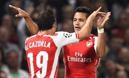 Foto: (Crónica) El Arsenal se mete en la fase de grupos de la 'Champions' (REUTERS)