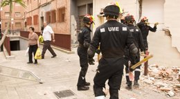 Foto: Pedro Sánchez visita hoy el cuartel general de la Unidad Militar de Emergencias (UME) en Torrejón (Madrid) (MDE)