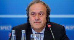 Foto: Platini descarta la presidencia de la FIFA (HAROLD CUNNINGHAM)