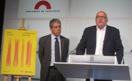 """Foto: El Gobierno catalán y el Parlament modifican los actos institucionales de la Diada por ser un año """"excepcional"""" (EUROPA PRESS)"""