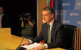 """Foto: Urkullu pide a los partidos vascos que """"nueve meses de campaña electoral no condicionen la estabilidad institucional"""" (EUROPA PRESS)"""
