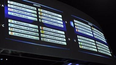 Foto: Benévolo sorteo para los españoles en la 'Champions' (HTTP://WWW.UEFA.COM/)