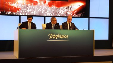 """Foto: Economía/Empresas.- Telefónica prevé sinergias de """"al menos"""" 4.700 millones de euros con la integración de GVT (EUROPA PRESS)"""