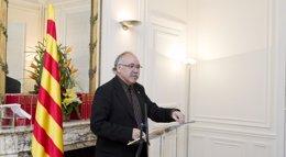"""Foto: Carod Rovira no tiene """"duda"""" de que Mas va a convocar la consulta """"de acuerdo con la Ley Catalana"""" (PHOTOGRAPHER: CHRISTOPHE GLAUDEL)"""