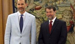 Foto: El Rey Felipe VI recibe en audiencia a Pedro Luis Alonso Fernández (EUROPA PRESS)