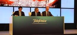 """Foto: (Amp.) Telefónica prevé sinergias de """"al menos"""" 4.700 millones de euros con la integración de GVT (EUROPA PRESS)"""