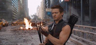 Foto: Jeremy Renner desmiente su muerte en 'Los Vengadores: La era de Ultrón' (MARVEL)