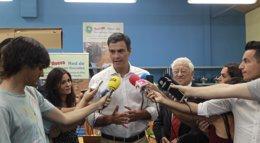 """Foto: Pedro Sánchez propondrá el miércoles a Artur Mas """"renovar entre todos el pacto constitucional"""" (EUROPA PRESS)"""