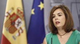"""Foto: El Gobierno confirma que pedirá la suspensión de la consulta y """"quiere creer"""" que Mas respetará la legalidad (EUROPA PRESS)"""