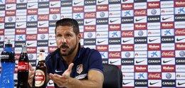 """Foto: Simeone: """"Afrontaremos el partido ante el Eibar con la mayor ambición"""" (ÁNGEL GUTIÉRREZ)"""