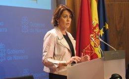 """Foto: Barcina se presentará como candidata de UPN a las elecciones forales para """"ganar el futuro de Navarra"""" (EUROPA PRESS)"""