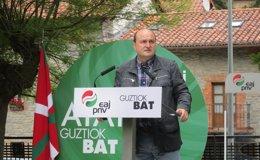 """Foto: Ortuzar (PNV) critica """"la charlotada"""" de PP sobre los batzokis y cree que """"la derechona tiene obsesión"""" con sus sedes (EUROPA PRESS)"""