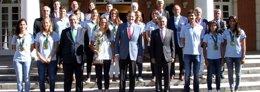 Foto: El presidente del Gobierno recibe a la selección española femenina (RFEN)
